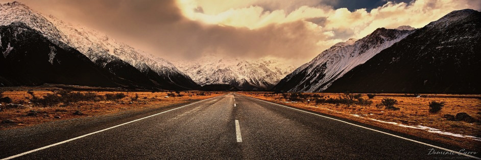 Into the Storm — Mount Cook National Park, South Island, New Zealand